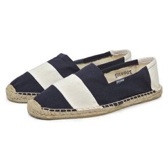 [[出售]原始物麻底帆布鞋Barca Stripe全2色男子][輕鬆的gifu_包裝]
