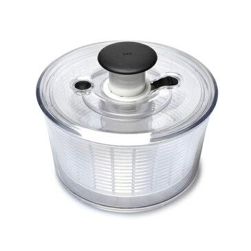 [オクソー] 1045409 OXO クリアサラダスピナー 小 保存容器 キッチン用品 ホワイト [キャンセル・変更・返品不可]