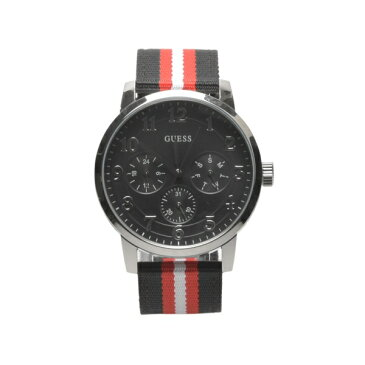 [ゲス ウォッチ] W0975 G1 G2 ゲス 腕時計 ブルックリン アナログ クオーツ 全2色 メンズ [キャンセル・変更・返品不可]
