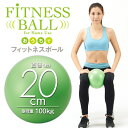 おうちでフィットネスボール 20cm(エクササイズ バランスボール)(Fitness ball) [...