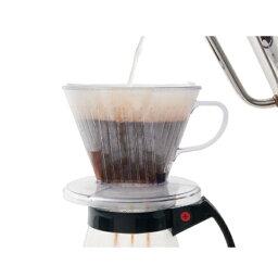 カリタ 06003 103-DL コーヒー ドリッパー プラスチック製 2~4人用 つば広 [キャンセル・変更・返品不可]