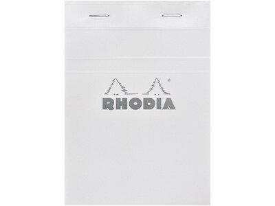 ロディアRHODIA/ブロックロディアホワイトNo.13A6サイズ(ホワイト・5mm方眼)(cf13201)