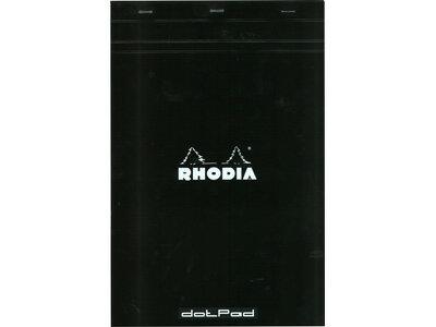 ロディアRHODIA/ドットパッドNo.19A4+サイズ(ブラック・ドット)(cf19559)
