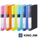 キングジム シンプリーズ クリアーファイル A4 タテ型 ポケット40枚(136SPW)【KING JIM File ポケット クリアーポケット ファイル】