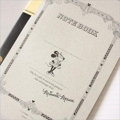 ツバメノートDisney×ツバメノート/ミッキーマウス・ミニーマウス柄(B5サイズ/30枚)