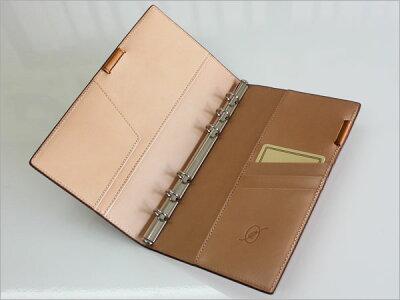 ダ・ヴィンチグランデDavinciGrande/EARTHLEATHERアースレザーシステム手帳聖書サイズ(リング11mm)(JDB113)