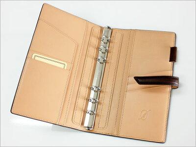 ダ・ヴィンチグランデDavinciGrande/EARTHLEATHERアースレザーシステム手帳聖書サイズ(リング15mm)(DB1272)