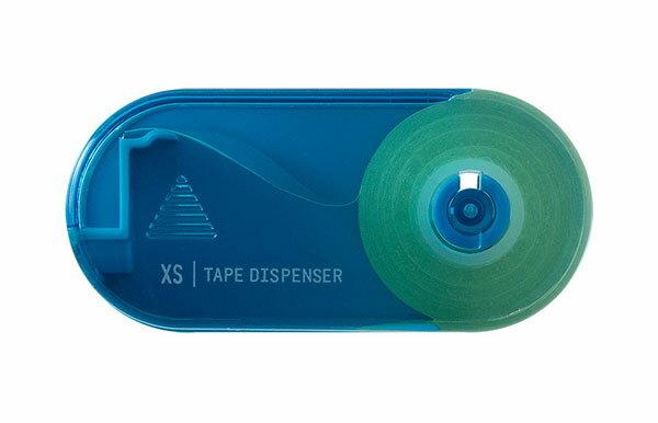 ミドリXSテープカッター青(49667006)【MIDORIXS(エックスエス)テープカッターかわいいデザインおしゃれ】