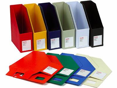 デルフォニックスDELFONICS/buroビュローファイルボックス縦型(A4サイズ)(FX11)