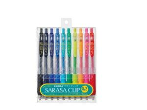 【水性ボールペン】【0.7mm】【10色セット】ゼブラ ZEBRA / SARASA CLIP サラサクリップ0.7(0....