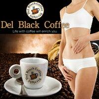 デルブラックコーヒー(ダイエット ダイエットコーヒー コーヒー コレウスフォルスコリ フォースコリー フォルスコリ 食物繊維 ダイエットドリンク 珈琲 L-カルニチン Lカルニチン 白いんげん豆 キャンドルブッシュ)5250円以上で送料無料