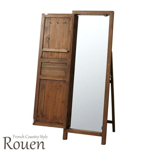 《東谷》Rouen/ルーアン ドアミラー(姿見鏡)TSM-13 幅45cm×厚み45cm×高さ134cm 天然木 杉 木製...