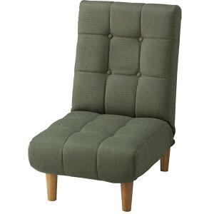 《AZUMAYA/東谷》rakuraku-chair楽々チェア・ジョインフロアソファ/THC-107GRリクライニングフロアチェア