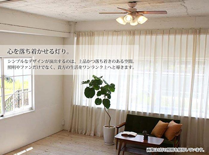 阪和plusmore『シーリングファンWindouble4灯(BIG-101)』
