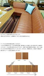 【新生活応援セット販売セール!3/8までポイント15倍】《JAM開梱設置付き》日本製コーナー3点セットソファーベンチアームソファ選べるLDテーブルソファPVC6カラー抗菌仕様リビングダイニング吉桂ジャムjam-pvc-3setJAM