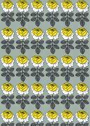 マリメッコ Marimekko[051045-922] マリメッコ MAALAISRUUSU (マーライスルース) 黄花/グレー...