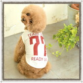 【小型犬 服】 小型犬用 適温キープ・ロゴTシャツ 日本製 SS S M L LL クール 温度調節素材 機能性ロゴTee ドッグウェア ペット用品 サマーウェア