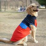 大型犬服teeポロシャツ風Tシャツシンプルtee6XL10号ゴールデンレトリバーラブラドールドックウェア