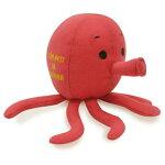 ペット用品おもちゃタコ犬・猫のおもちゃお魚タコTOYドッグトイおもしろペットトイピーピーカシャカシャトイ