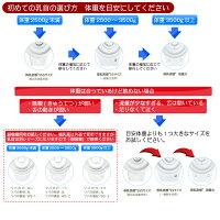 ピジョン病産院用哺乳びん母乳実感(直付け式)キャップ+選べる直付け乳首セット