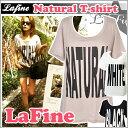 ラファイン レディース 半袖 ゆる てろ tシャツ lafine 送料無料 ロゴ tシャツ 白 黒 梨花 愛用 大きいサイズ