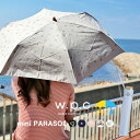 w.p.c 日傘 折りたたみ 折りたたみ傘 wpc UVカット 晴雨兼用 遮光遮熱 綿 紫外線カット 日除け 紫外線カット率 90%以上 布 軽量 50cm紫外線対策 日焼け防止 かわいい