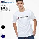 チャンピオン Tシャツ メンズ Champion ロゴT USAサイズ半袖 大きいサイズ クルーネック シンプル 男性用