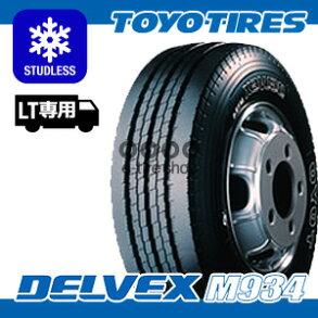 スタッドレスタイヤ単品トーヨータイヤDELVEXM934215/70R17.5118/116L[TOYOTIRES][デルベックス]注)タイヤ1本あたりのお値段です