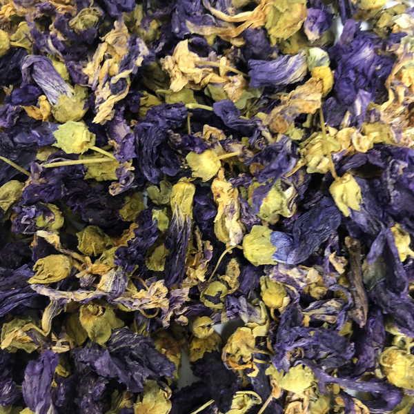 さら〜にお得な業務用 「マローブルー・フラワー(花部)」 500g リーフタイプ SARANIシングルハーブティー