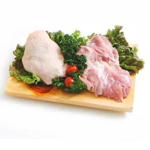 【送料無料】菜彩鶏 鶏もも肉 4kg(2kg2パックでの発送) (岩手県産) (fn67701)全飼育期間において抗生物質を使用せず健康な鶏を育てています。