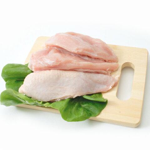 菜彩鶏 むね肉 2kg(1パックでの発送) (岩手県産) (fn67700)全飼育期間において抗生物質を使用せず健康な鶏を育てています。
