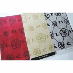 CLATHAS クレイサス タオルハンカチ レディース ロゴ&花柄 (2020夏秋/25×25cm)