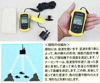BIGCATCH大漁くんデラックス携帯形魚群探知機
