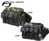 F.JAPAN BG4107 ウエストバッグ ヒップバッグ 【 あす楽 対象 】【 あす楽便 】大容量ウエストバッグ