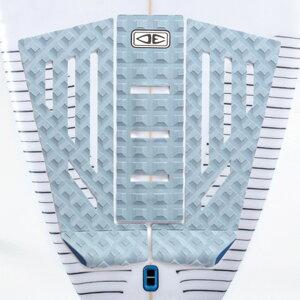 [OCEAN&EARTH(オーシャンアンドアース)]SHACKED 3 PIECE 300 TAIL PAD BLUEデッキパッド