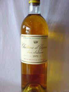 [1971] シャトー・ディケム 750ml ソーテルヌChateau d'Yquem/Sauternes