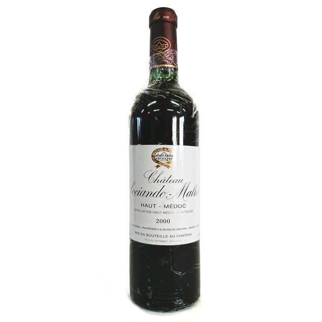 ワイン, 赤ワイン 2000 750ml Chateau Sociando Mallet Ko-9