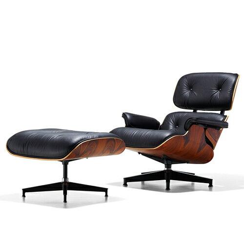【ポイント5倍!】【予約注文】Herman Miller(ハーマンミラー)Eames Lounge Chair & Ottoman 特別セット サントスパリサンダー【取寄品】