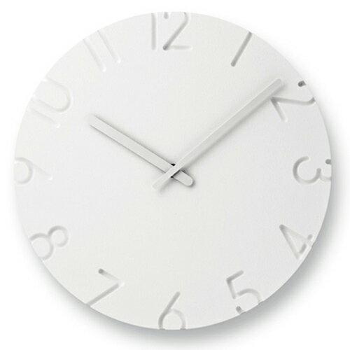 【ポイント10倍!】Lemnos(レムノス)掛時計 CARVED Arabic(カーヴド アラビア数字)Φ305mm