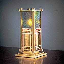 【ポイント10倍!】Frank Lloyd Wright(フランクロイドライト) テーブルスタンド照明スーマック 5(SUMAC 5)