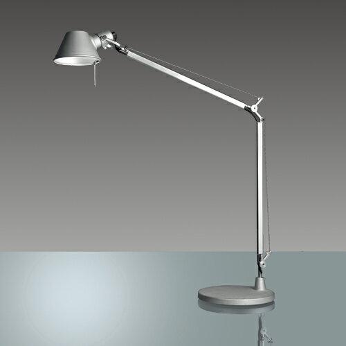 【ポイント5倍!】Artemide(アルテミデ)テーブル照明 「TOLOMEO MIDI TAVOLO LED」シルバー[618S2753S]