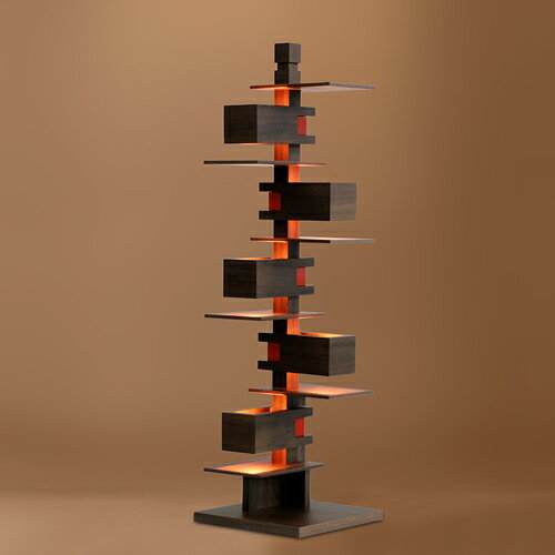 【ポイント10倍!】Frank Lloyd Wright(フランクロイドライト)テーブル照明 TALIESIN 3(タリアセン3) ウォルナット