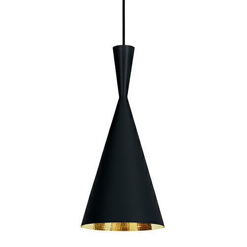 TOM DIXON(トム・ディクソン)ペンダント照明 BEAT TALL PENDANT ビート ブラック(ランプ別売・専用ランプ)