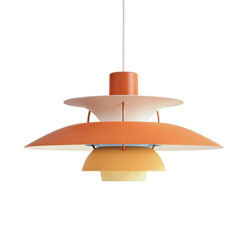 【ポイント10倍!】Louis Poulsen(ルイスポールセン) ペンダント照明 PH 5 オレンジ・グラデーションの写真