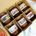 山梨県産 完熟フルーツ ジャム 6本セット いちご さくらんぼ スモモ 桃 ぶどう ゆず