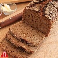 本場ドイツパン、ライ麦100%のパンを楽しめる