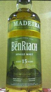 ベンリアック15年マディラ・フィニッシュ 46% 700ml