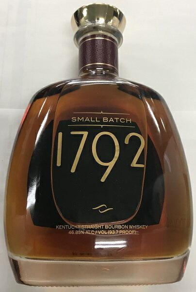 1792 スモールバッチ 750ml 46.85% (旧 リッジモント・リザーヴ) 20191229