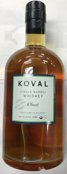 コーヴェルシングルバレルウイスキーウィート(小麦を51%以上使用)40%750ml