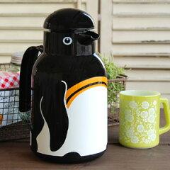 楽天ランキング入賞!愛らしいペンギンの 魔法瓶 ! 保温 ができるドイツの ヘリオス 社製 卓上...